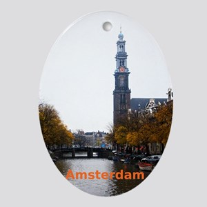 Amsterdam Oval Ornament