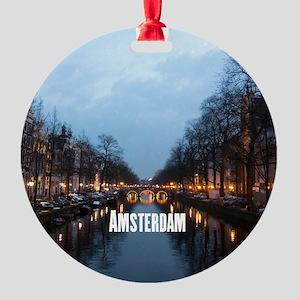 Amsterdam Round Ornament
