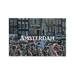 Amsterdam Rectangle Magnet (10 pack)