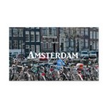 Amsterdam Rectangle Car Magnet