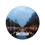 "Amsterdam 3.5"" Button (100 pack)"