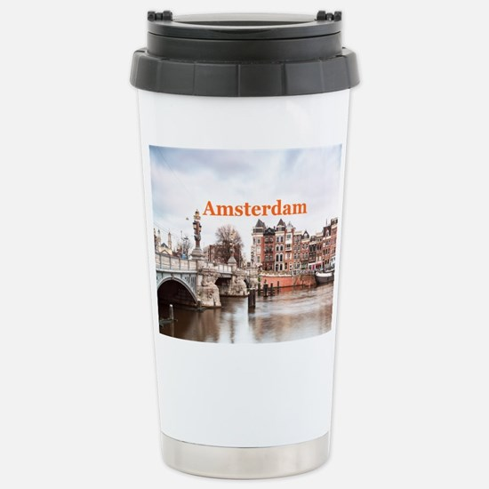 Amsterdam Stainless Steel Travel Mug