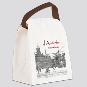 Amsterdam Canvas Lunch Bag