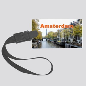 Amsterdam Large Luggage Tag