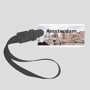 Amsterdam Small Luggage Tag