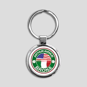 Arthur Avenue Bronx Italian American Keychains