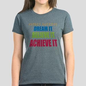 Expect Success Women's Dark T-Shirt