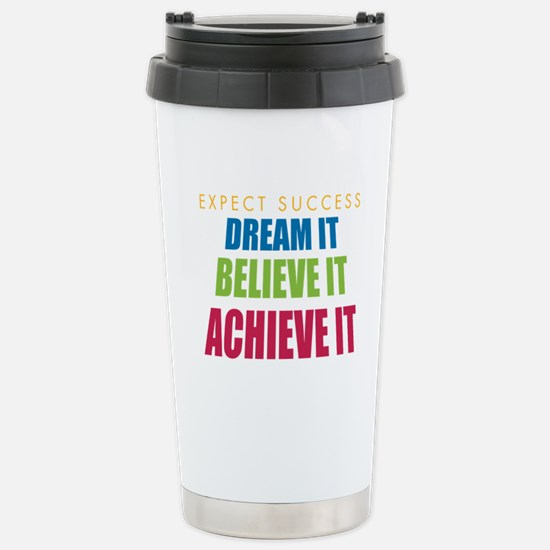Expect Success Stainless Steel Travel Mug