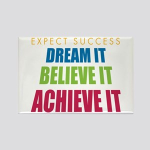 Expect Success Rectangle Magnet