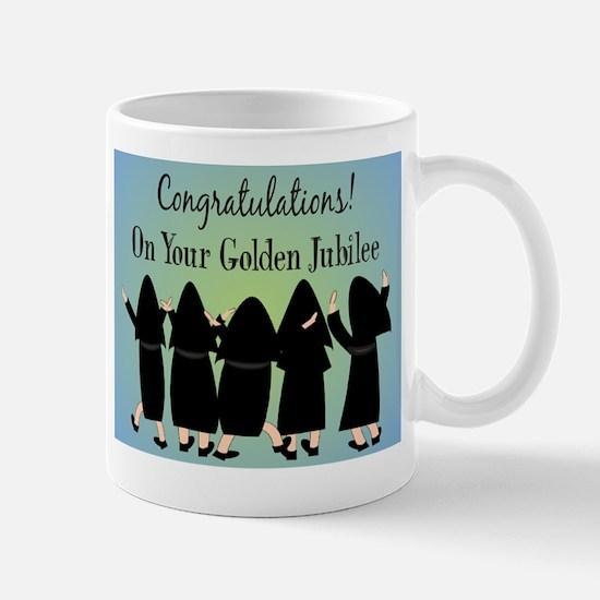 Nuns Jubilee Large Mugs