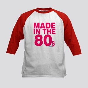 Made In The 80s Kids Baseball Jersey