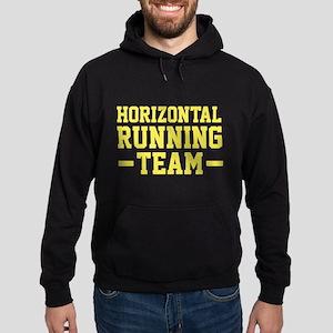 Horizontal Running Team Hoodie (dark)