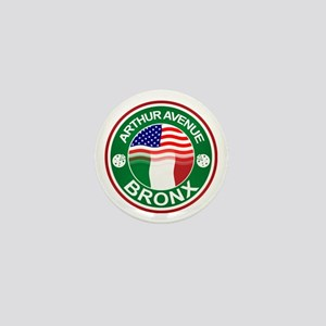 Arthur Avenue Bronx Italian American Mini Button
