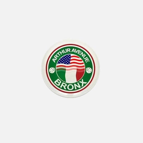 Arthur Avenue Bronx Italian American Mini Button