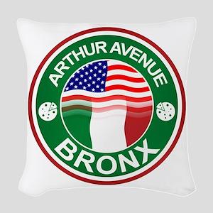 Arthur Avenue Bronx Italian American Woven Throw P