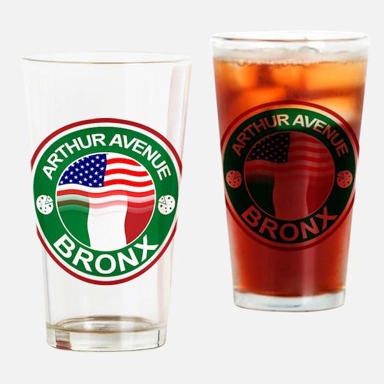 Arthur Avenue Bronx Italian American Drinking Glas