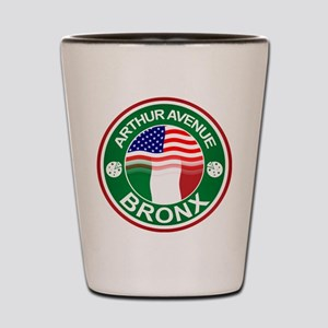 Arthur Avenue Bronx Italian American Shot Glass