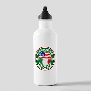 Arthur Avenue Bronx Italian American Water Bottle