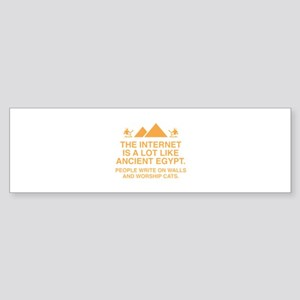 The Internet Is A Lot Like Ancient Egypt Sticker (