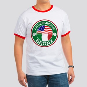 Arthur Avenue Bronx Italian American T-Shirt