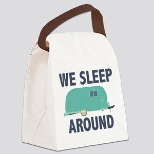 We Sleep Around Canvas Lunch Bag