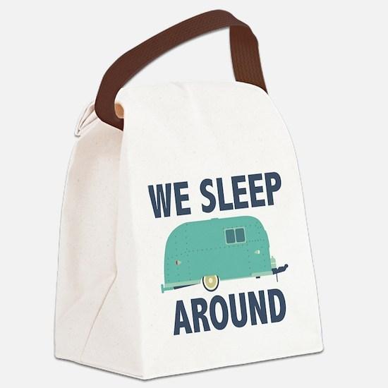 We Sleep Around Canvas Lunch Bag