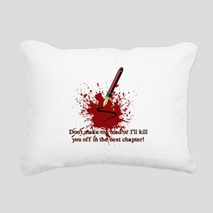 Dont make me mad Rectangular Canvas Pillow