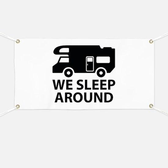 We Sleep Around Banner