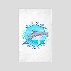 Dolphin Maori Sun 3'x5' Area Rug