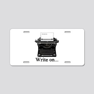 Write On Aluminum License Plate