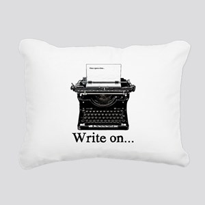Write on Rectangular Canvas Pillow