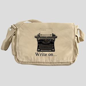 Write on Messenger Bag