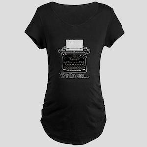 Write on Maternity T-Shirt