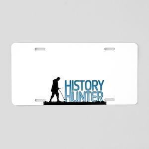 Metal Detecting History Hunter Aluminum License Pl