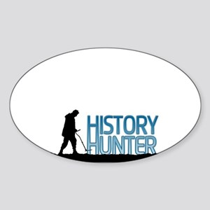 Metal Detecting History Hunter Sticker