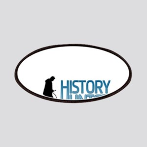 Metal Detecting History Hunter Patches