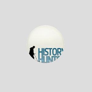 Metal Detecting History Hunter Mini Button