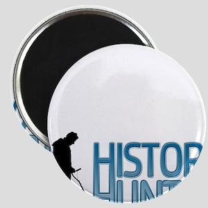 Metal Detecting History Hunter Magnets