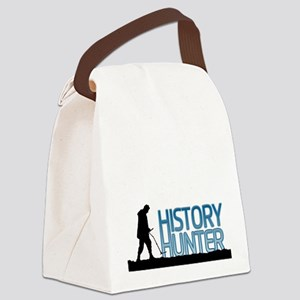 Metal Detecting History Hunter Canvas Lunch Bag