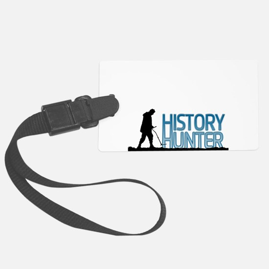 Metal Detecting History Hunter Luggage Tag