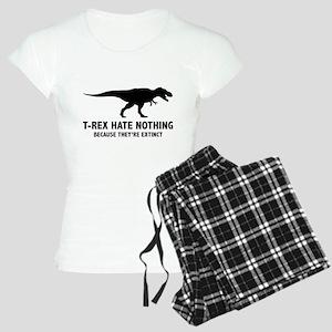 T-REX HATE NOTHING Women's Light Pajamas