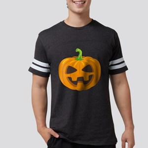 Jack-O-Lantern Emoji Mens Football Shirt