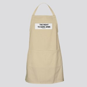 The right to bare arms (workout) BBQ Apron