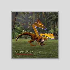 Drakon Myth 11A - Square Sticker 3&Quot; X 3&Quot;