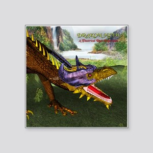 Drakon Myth 10A - Square Sticker 3&Quot; X 3&Quot;