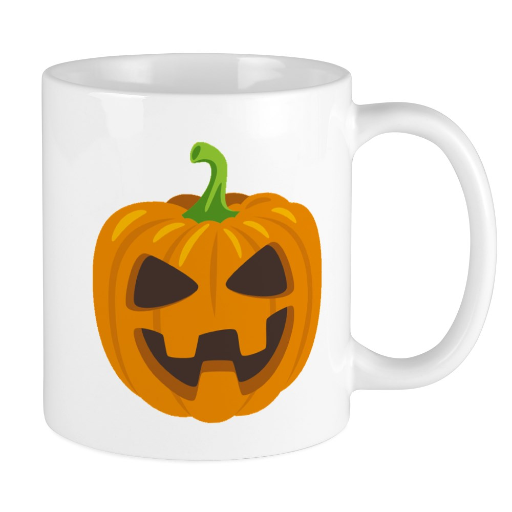 Cafepress Jack O Lantern Emoji 11 Oz Ceramic Mug 100523268 Ebay