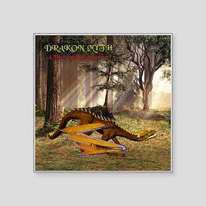 Drakon Myth 12A - Square Sticker 3&Quot; X 3&Quot;