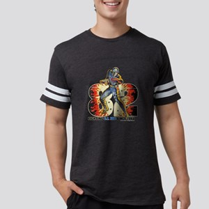 G.I. Joe Cobra Commander Mens Football Shirt