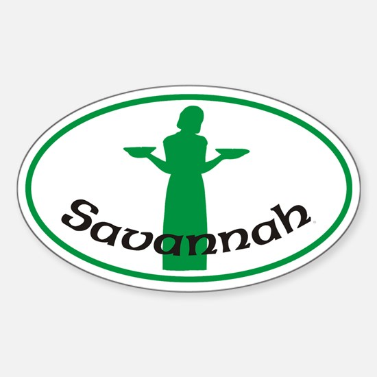 Savannah_Bird_Girl_Sticker_Green