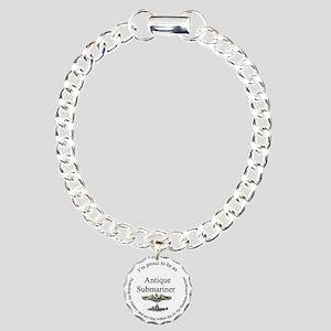 Antique FBM sailor Charm Bracelet, One Charm